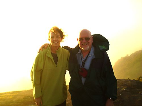 Dianne and me sunrise