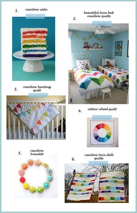 Rainbow collage 2a