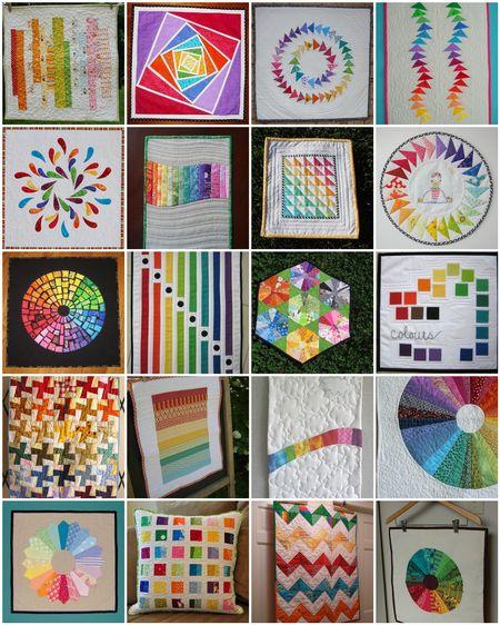 Rainbow collage 3