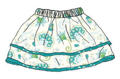 Mini skirt a