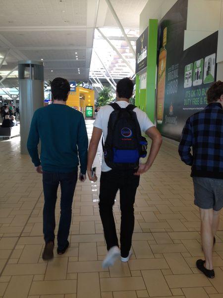 Luke leaving 2