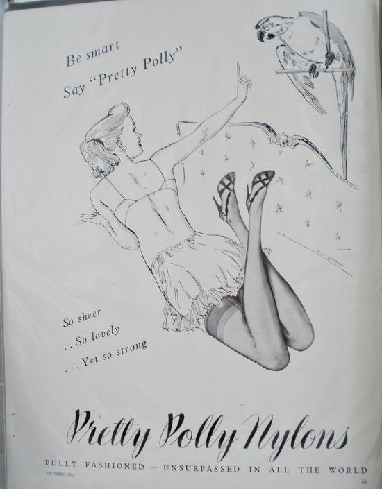 Vintage magazine pages 004a