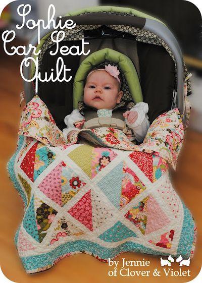 Sofie car quilt