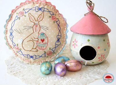 Easter pincushion