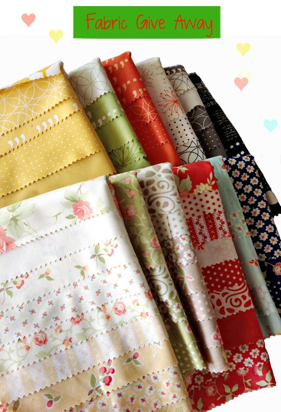 Fabric give away